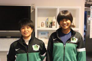 U-15日本女子選抜 2回目のトレーニングキャンプに2名選出!!