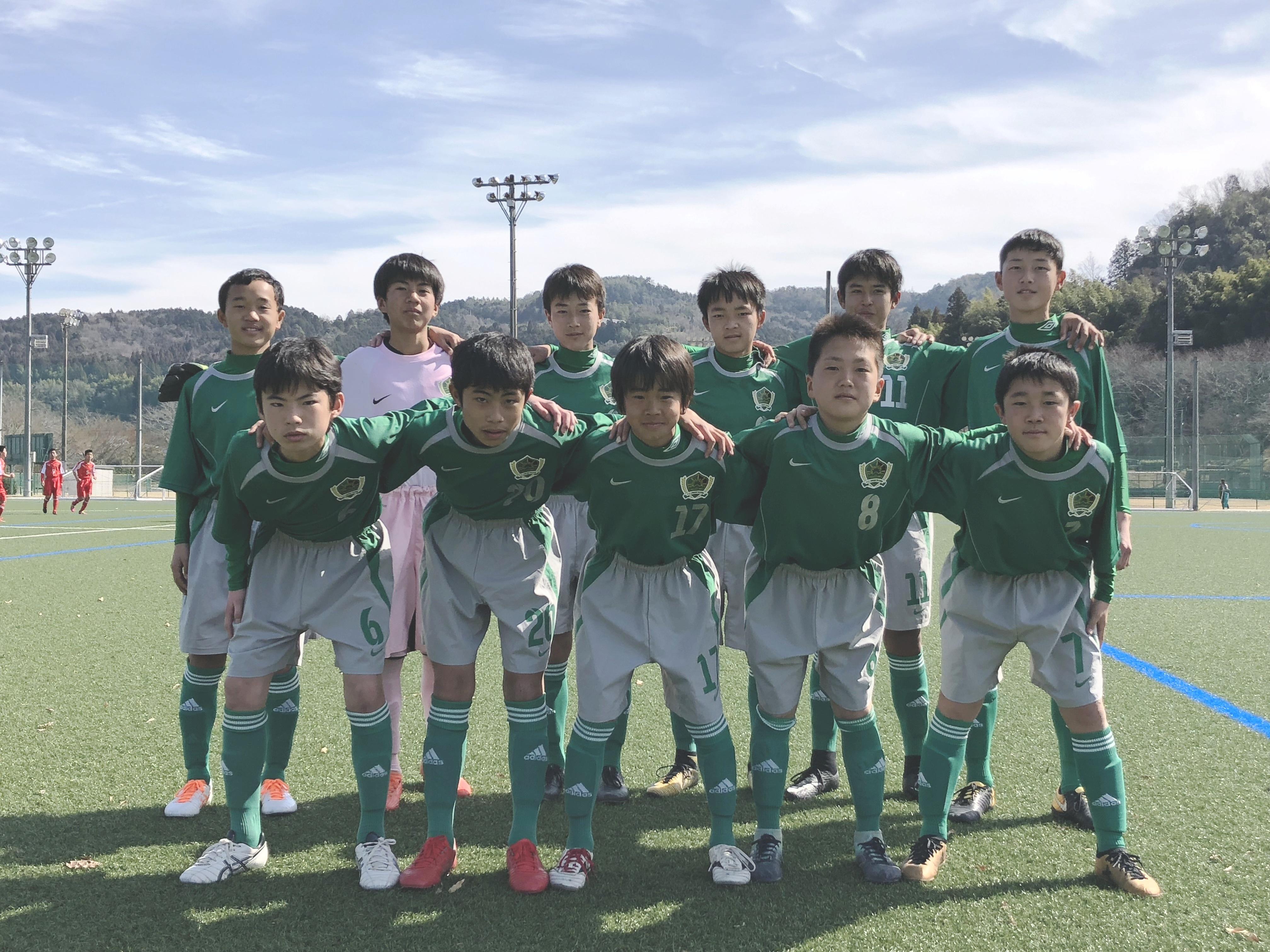 FCオリベ多治見ジュニアユースBチーム 2018年度岐阜県U15リーグ3部 試合結果