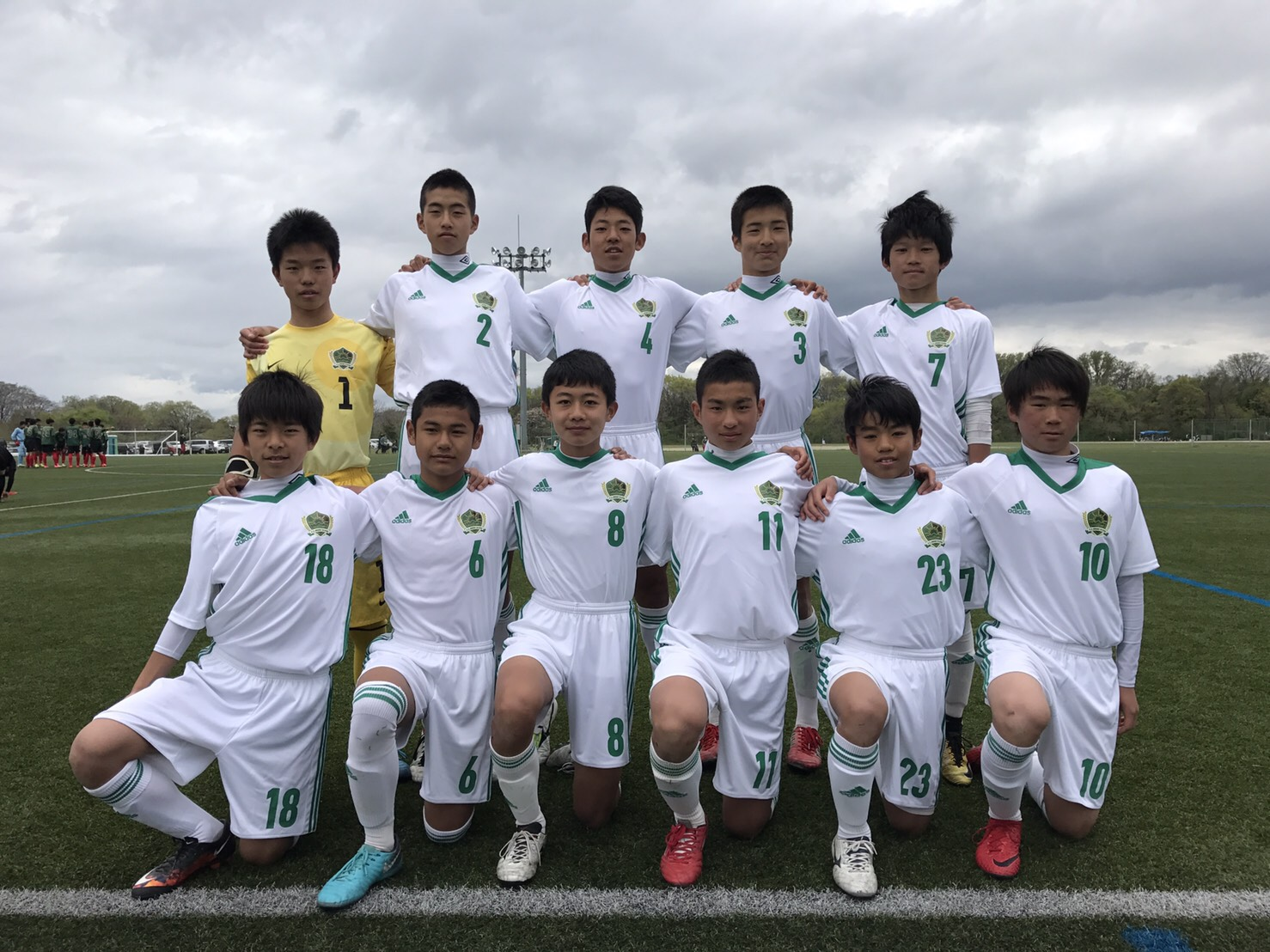 FCオリベ多治見ジュニアユースAチーム 2018年度岐阜県U15リーグ1部試合結果