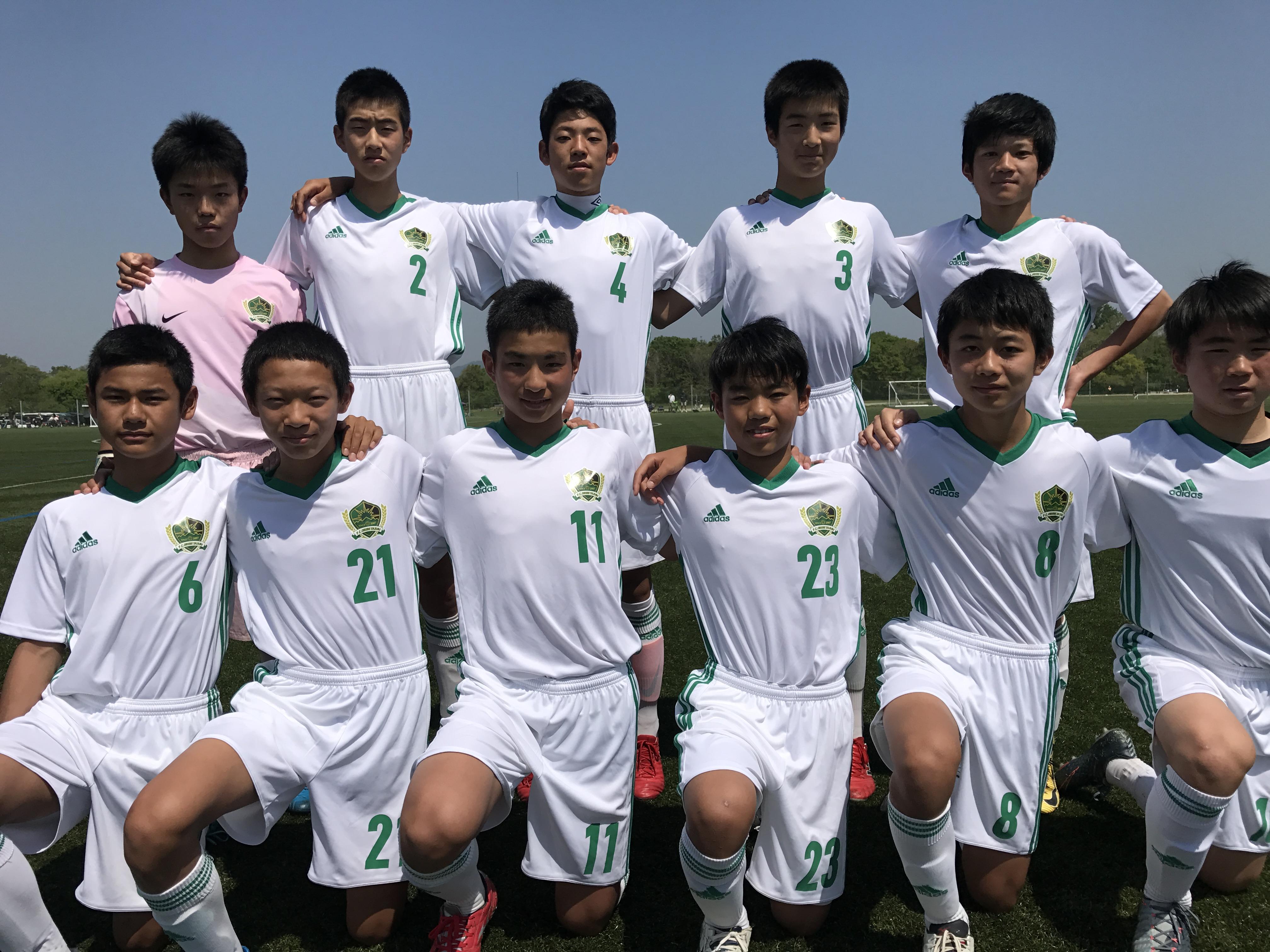FCオリベ多治見JrユースAチーム 2018年度岐阜県U15リーグ1部結果