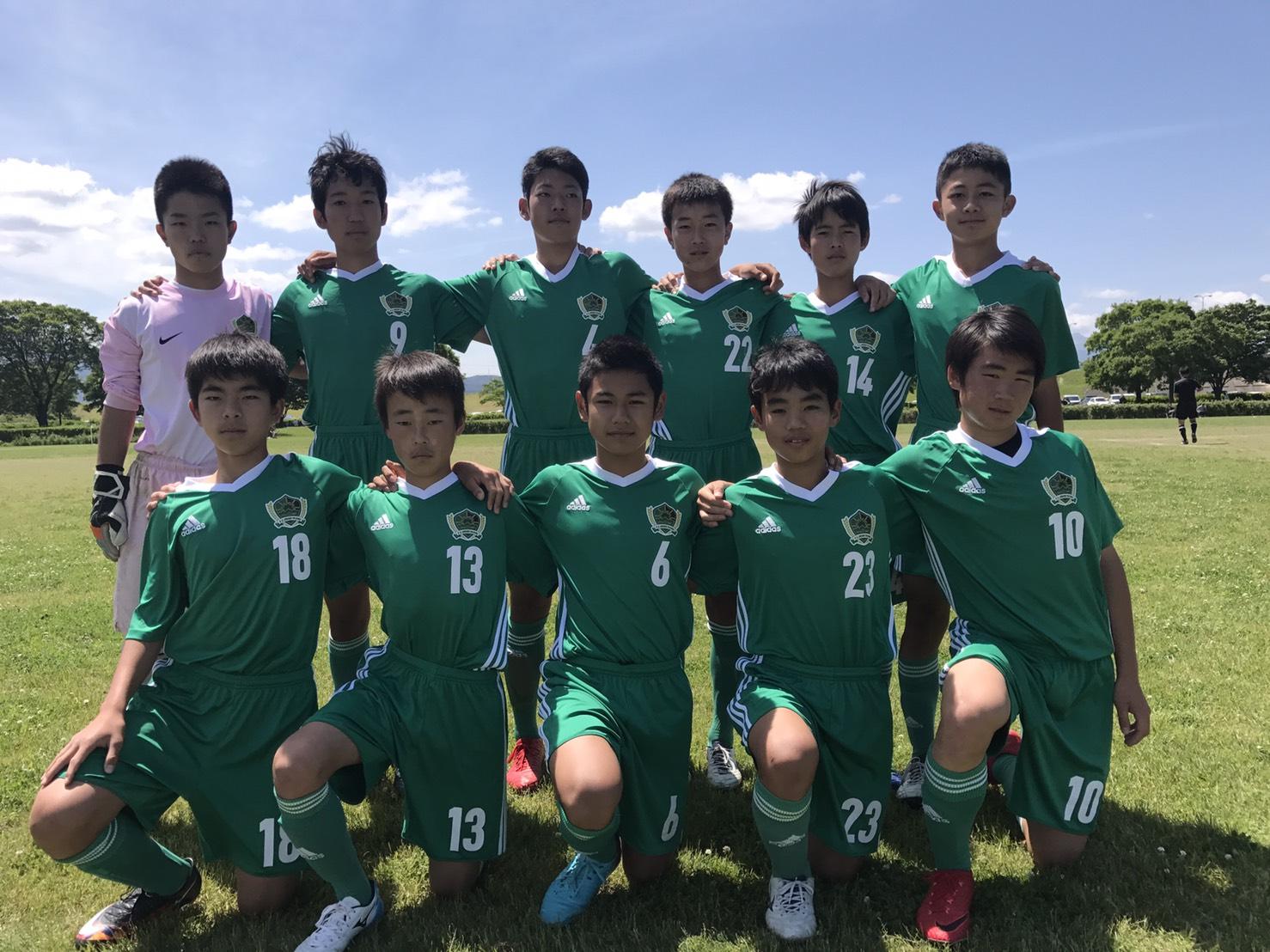 FCオリベ多治見JrユースAチーム 2018年度岐阜県U15リーグ1部第8節