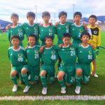 ジュニアユース 岐阜県U13リーグvsアウトラインFC 試合結果