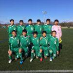 【Jrユース】岐阜県U14リーグ1部入替戦vs高山FC 試合結果