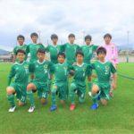 【Jrユース】岐阜県U-15リーグ1部 vsSC岐阜VAMOS 試合結果