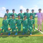 【Jrユース】岐阜県U-15リーグ1部 vs FCV可児 試合結果