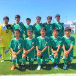 【Jrユース】岐阜県U-13リーグ vs FC K-GP 試合結果