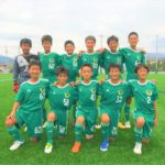 【Jrユース】岐阜県U-13リーグ vs E.C.REVANTE 試合結果